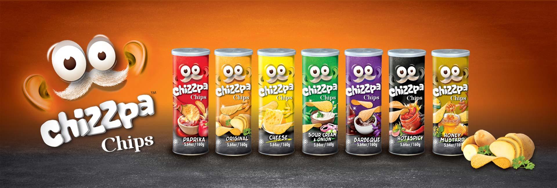 Snack - Chizzpa Chips